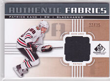 2011 11-12 SP Game Used Authentic Fabrics Patches #AFPK Patrick Kane 22/35