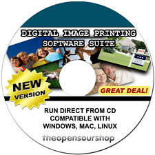 Professional Photo Editing Software Kit CD - Create Poster Prints