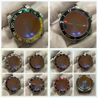 40mm Watch Case Sapphire Glass Watch Accessories For NH35/NH36 Movement New