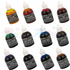 Sugarflair AIRBRUSH COLOURS - Edible liquid food colouring for airbrushing