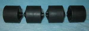 NORDIC TRACK PRO SKI MACHINE Replacement Part: 4 Roller Wheels Front & Back