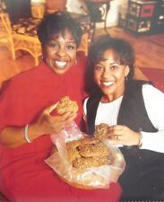 Gladys Knight clipping color photo 1990s pop singer R&B cookies w/ daughter