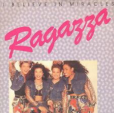 "RAGAZZA – I Believe In Miracles (1989 NEDERPOP VINYL SINGLE 7"")"