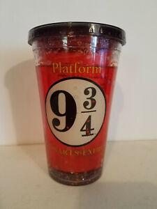 Harry Potter Hogwarts Platform 9 3/4 Insulated Large Tumbler + LID
