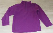 5243 - Polaire zip 5 ans violet QUECHUA