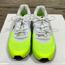 NEW NIKE White Yellow Air Pegasus Day Glo Trainers Size UK 8.5 EUR 42.5 13009
