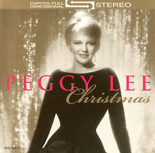 Peggy Lee CD Christmas [EMI-Capitol Special Markets] sealed new