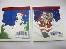 48 x CHRISTMAS NOTEBOOK SANTA PARTY BAG WHOLESALE JOB LOTS SHOP GROTTO GIFT
