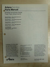 ARIENS 924000 SERIES TRACTOR SNO - THROS ATTACHMENTS PARTS MANUAL PM 14 80