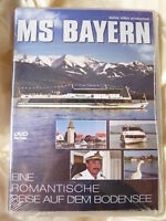 MS Bayern Eine romantische Reise auf dem Bodensee - DVD NEU