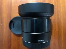 Sigma EX 19mm f/2.8 EX DN Lens for Sony