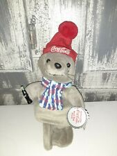 Coca Cola Collectible Bean Bag Plush 1999 Seal in Delivery Outfit Coke Item 0170