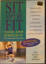 Sit and be Fit Tone and Stretch Iv with Mary Ann Wilson Workout Fitness Dvd