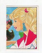 figurina - BARBIE 1989 PANINI - NUMERO 76