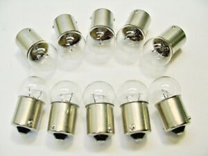 Ford Box of 10 Incandescent 12V #89 Interior Courtesy Trunk Light Bulbs Lamps