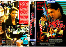 """VHS - """" Law and ORDER in Chicago -- TV-Pilot-FIlm """" (1990) - Lise Cutter"""