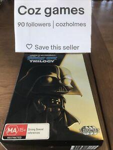 The Family Guy Star Wars Trilogy Box Set Very Rare Australian Release Box Set