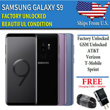 Samsung Galaxy S9 - 64GB - FACTORY UNLOCKED - Verizon AT&T T-Mobile Sprint A