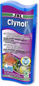 JBL Clynol 250ml Aquarium Water Clarifier Cleaner Odour Remover Liquid Filter