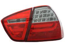 Indietro Posteriore Luci Di Coda Per BMW E90 Saloon 05-08 in rosso-smoke LED LIGHTBAR