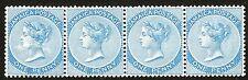 1889 Jamaica (4) Stamps #17 1p blue, MINT o.g. 3 MNH, 1 MLH Exceptionally RARE