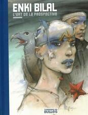 Enki Bilal, l'art de la prospective, TL 400 ex, édition luxe, ex-libris signés