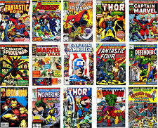15 Marvel Super Hero Comic Theme Edible WAFER PAPER CAKE TOPPERS