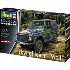 "Revell Lkw gl Leicht ""Wolf"" German Military Truck Model Kit - Scale 1:35 - 03277"