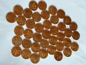 40 pieces of 2009 Bicentennial Memorial Lincoln cent