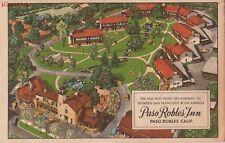 Postcard Paso Robles Inn Paso Robles CA