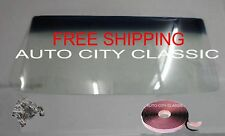 70-72 Chevelle Windshield Glass Ht Camino Cutlass Tempest Skylark Butyl Clips Gb