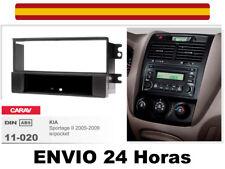 Marco Adaptador Kit de Radio CARAV 11-020 1Din KIA Sportage II 2005-09
