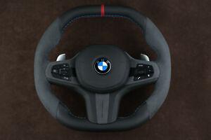 BMW G30 G32 5,6 Series 2017+ OEM Custom Steering Wheel Flat bottom Square top