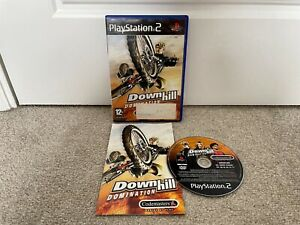 Downhill Domination Sony Playstation 2 PS2 Game Complete w/ Manual Tested
