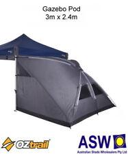 3m x 2.4m Oztrail Gazebo POD TENT - Extend your Deluxe Gazebo when Camping