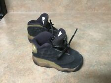414581-006 Jordan 23 Retr Bt Toddler/Baby Shoes Black / Olive Size 4C (Con22)