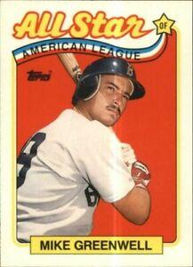 1989 Topps Tiffany Béisbol Tarjetas 401-600 (A3561) - Usted Recoger - 10+Sin