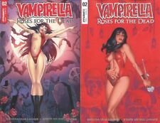 VAMPIRELLA ROSES FOR DEAD #2 CVR A & B COVER SET NM DYNAMITE COMICS
