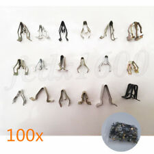 100x Mixed Auto Fastener Car Dashboard Center Console Panel Metal Washer Gasket