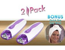 EpiSmooth 2 Pack w/ Bonus Quick Dry Hair Wrap As Seen on TV LAST ONE!!