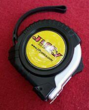 "Jiffy Ice Auger Tape Measure 120"" Lockable Metal Spool Fishing Power Drill NIB"