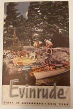 Vintage Evinrude Outboard Motor In Parts Accessories Ebay