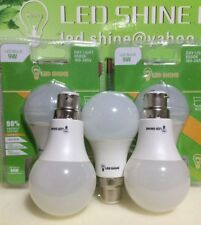 9W,LED LIGHT BULB,Day Light,6500K,B22,Five BULBS,Bargain £11.99 Only, WOW
