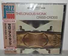 CD THELONIOUS MONK - CRISS-CROSS - JAPAN SICP 4035