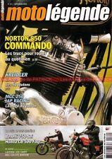 MOTO LEGENDE 171 BENELLI 750 Sei HONDA CB 500 Four NORTON 850 Commando LAVERDA