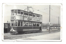 Vintage RP postcard Tram, Sunderland. Photo by R.A.Thompson