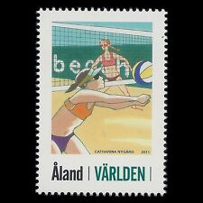 Aland 2011 - Sports Personalized Stamp Beach Volleyball