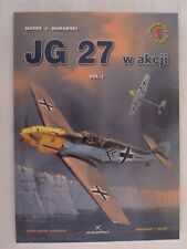 Kagero Book: JG 27 w akcji: Volume 1 (Air Miniatures) DECALS included