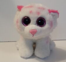 Ty Beanie Baby Boos TABOR Pink Tiger Cat Plush Stuffed Animal Babies