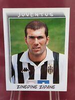 Zinedine Zidane Juventus France Calciatori 2000 Panini Sticker